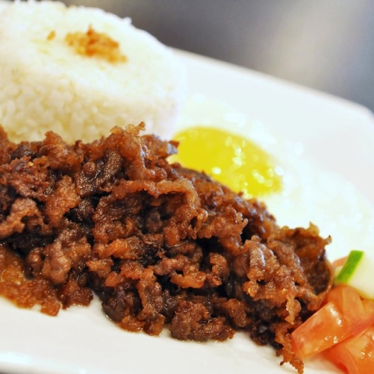 Their AMAZING Angus Tapa! Definitely a MUST try! :)